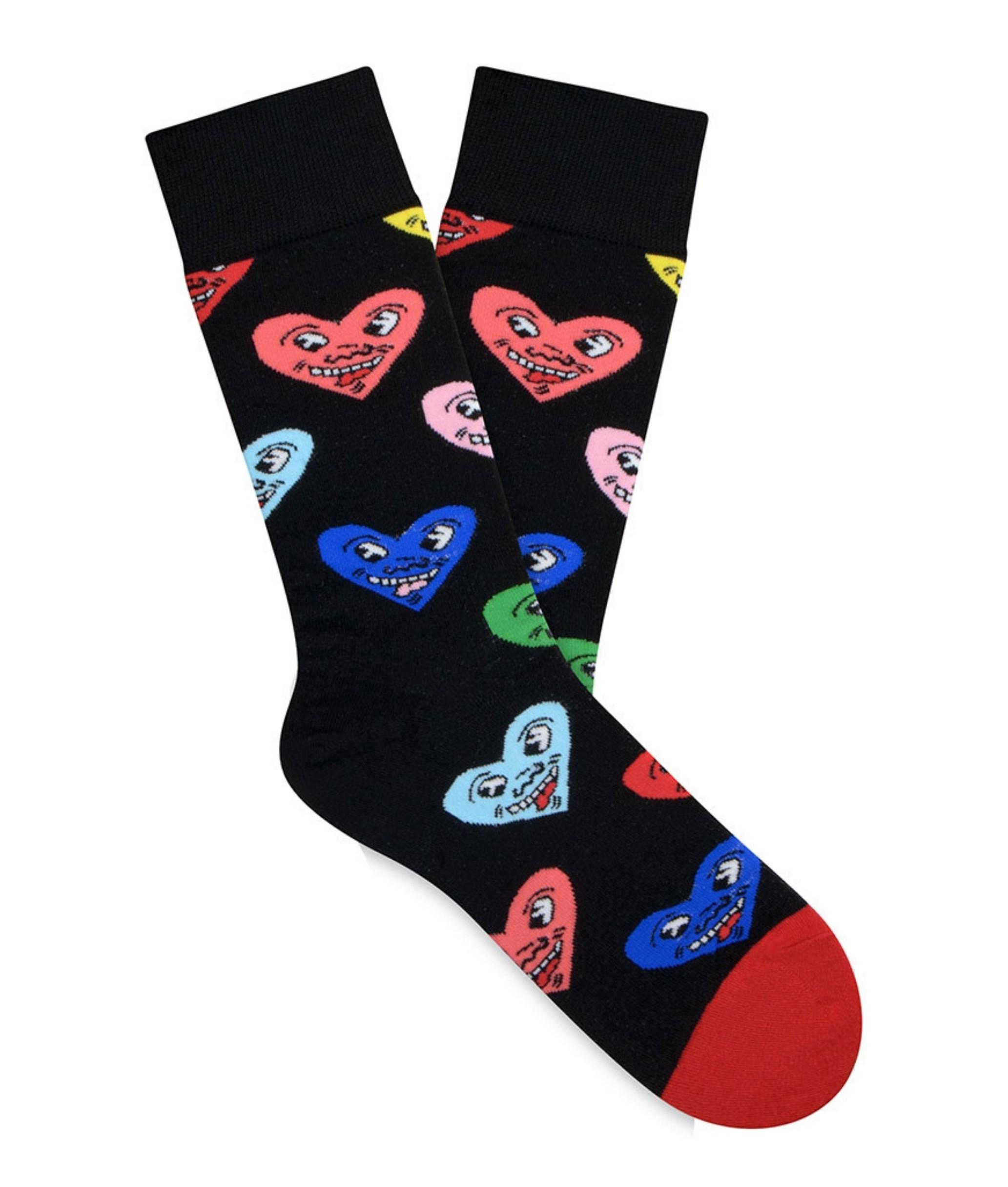 Sock Alto Kylie - Corazones y Risas