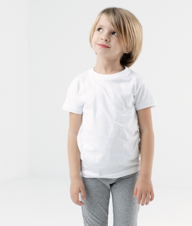 T-SHIRT BIGEL - BLANC