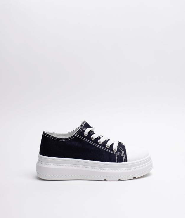 Sneakers Plum - Dark Blue