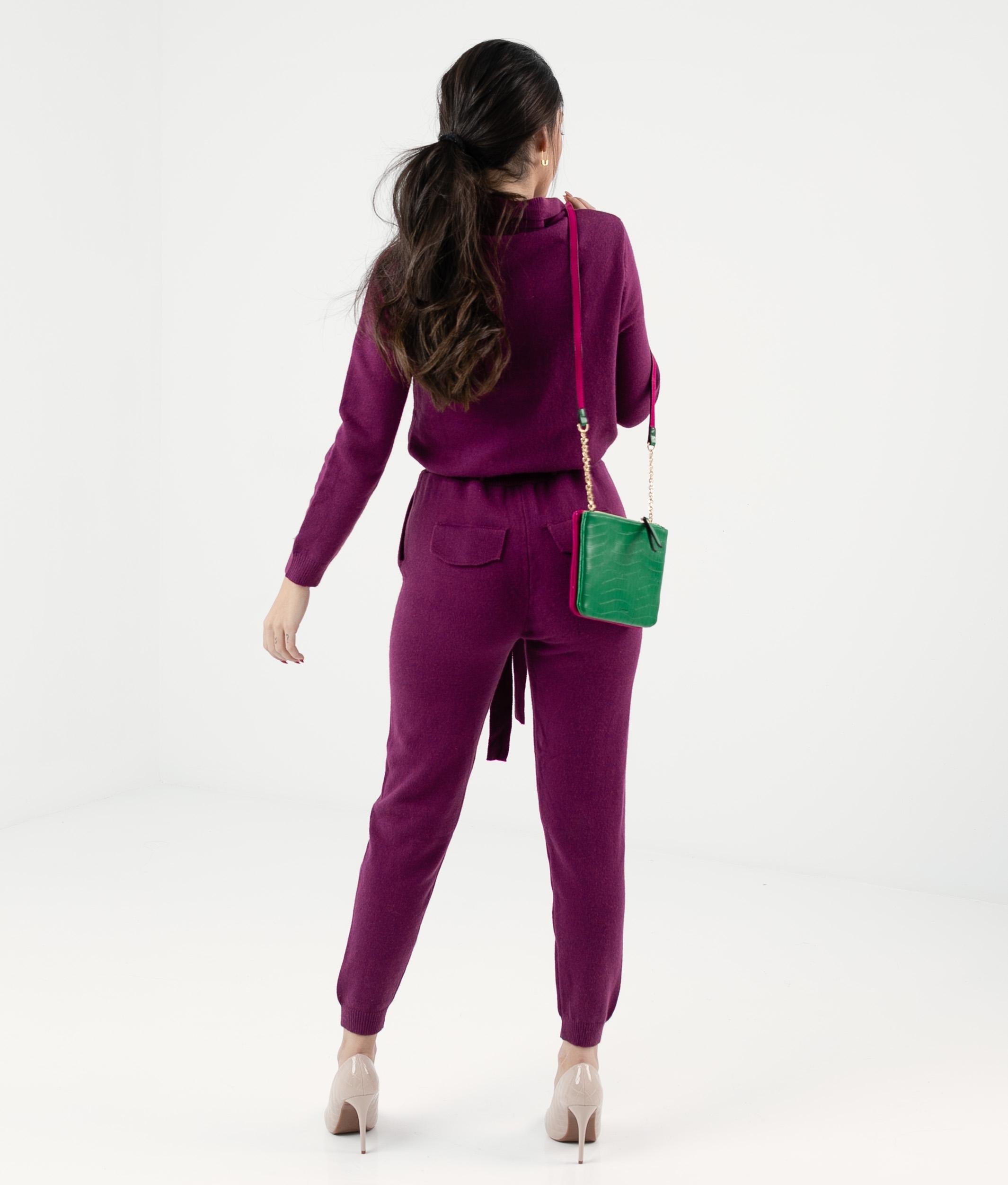 Rodis Jumpsuit - Purple
