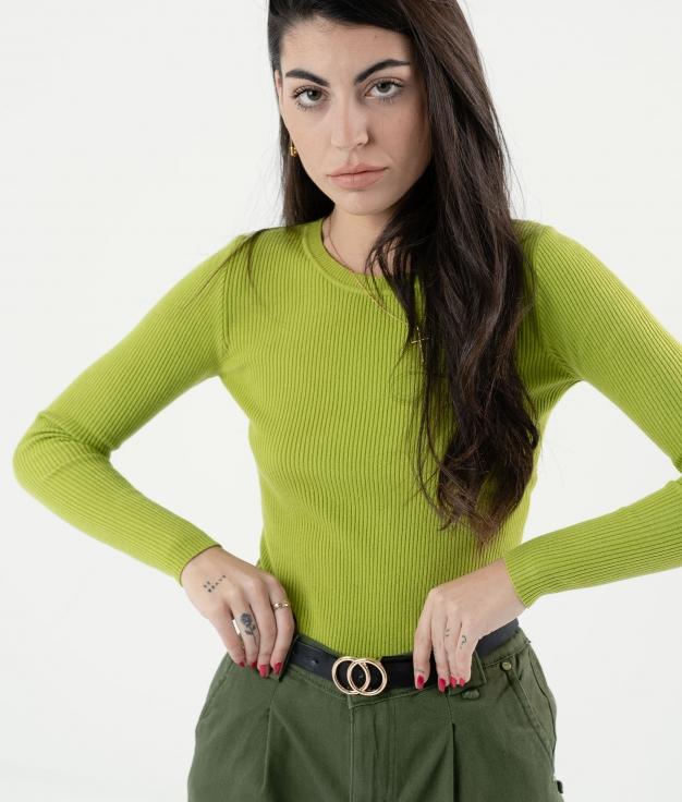 SWEATER REBLER - GREEN