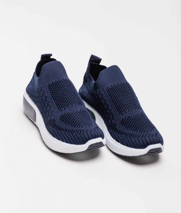 Sneakers Tronde - Bleu