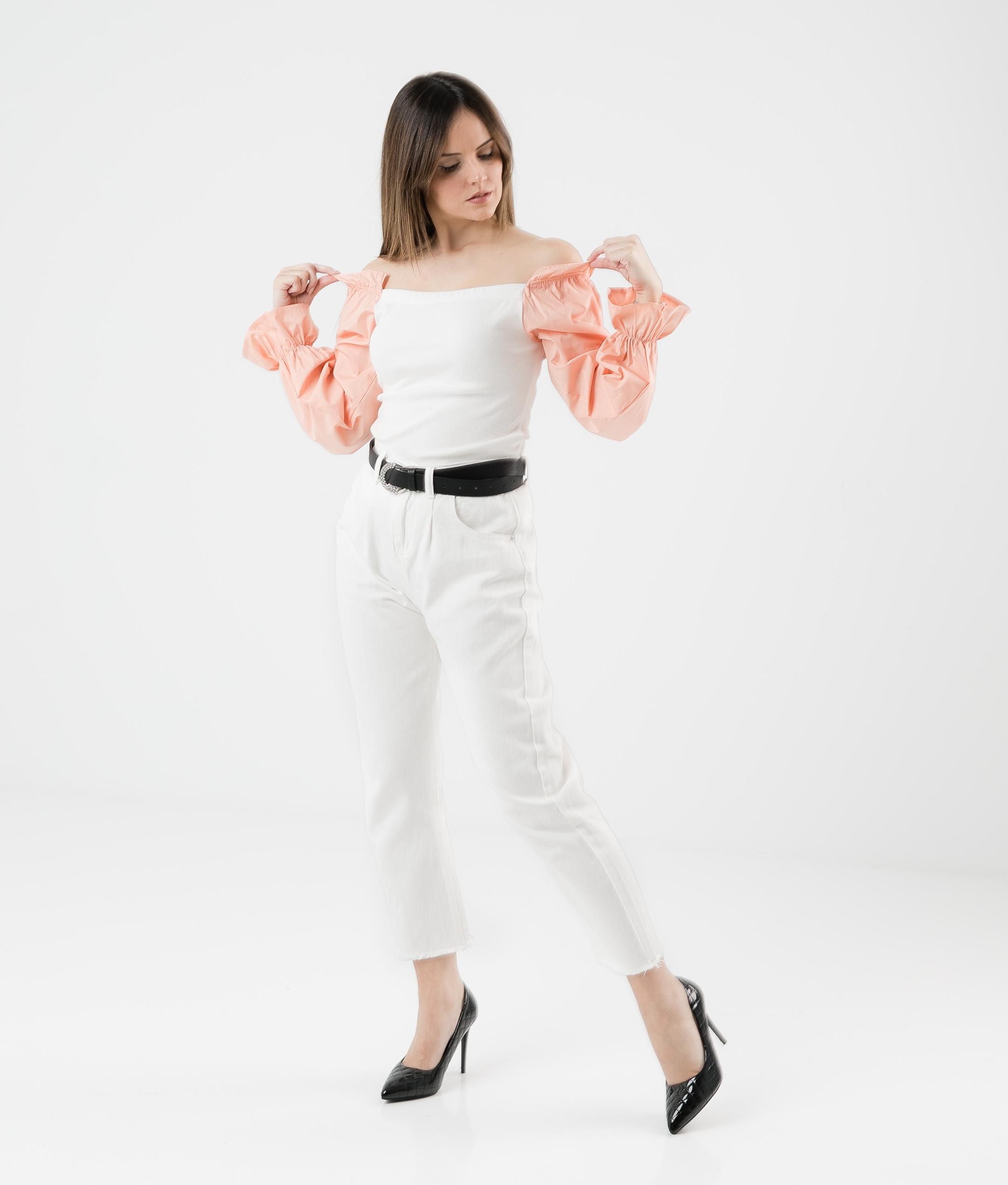 Camiseta Olena - Laranja