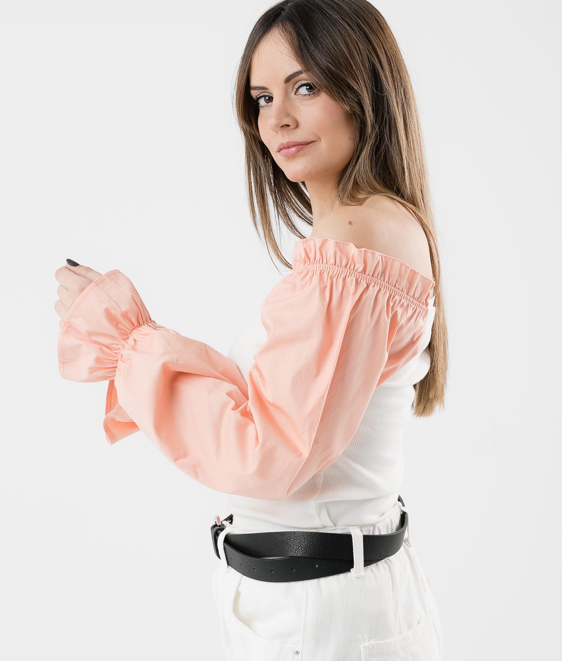 Camiseta Olena - Naranja