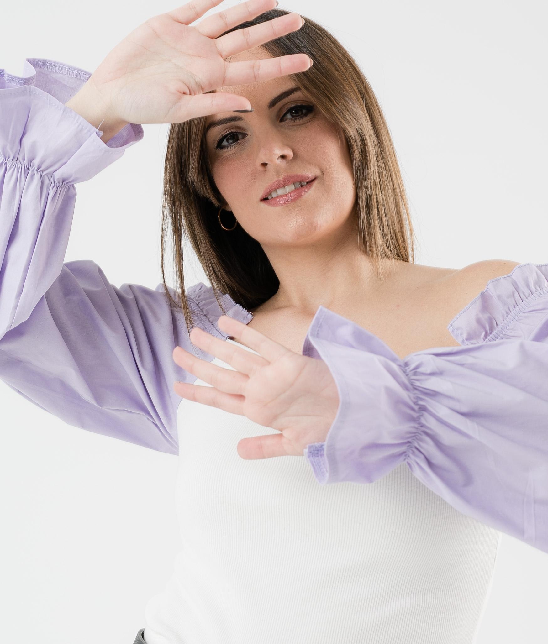 Camiseta Olena - Lila