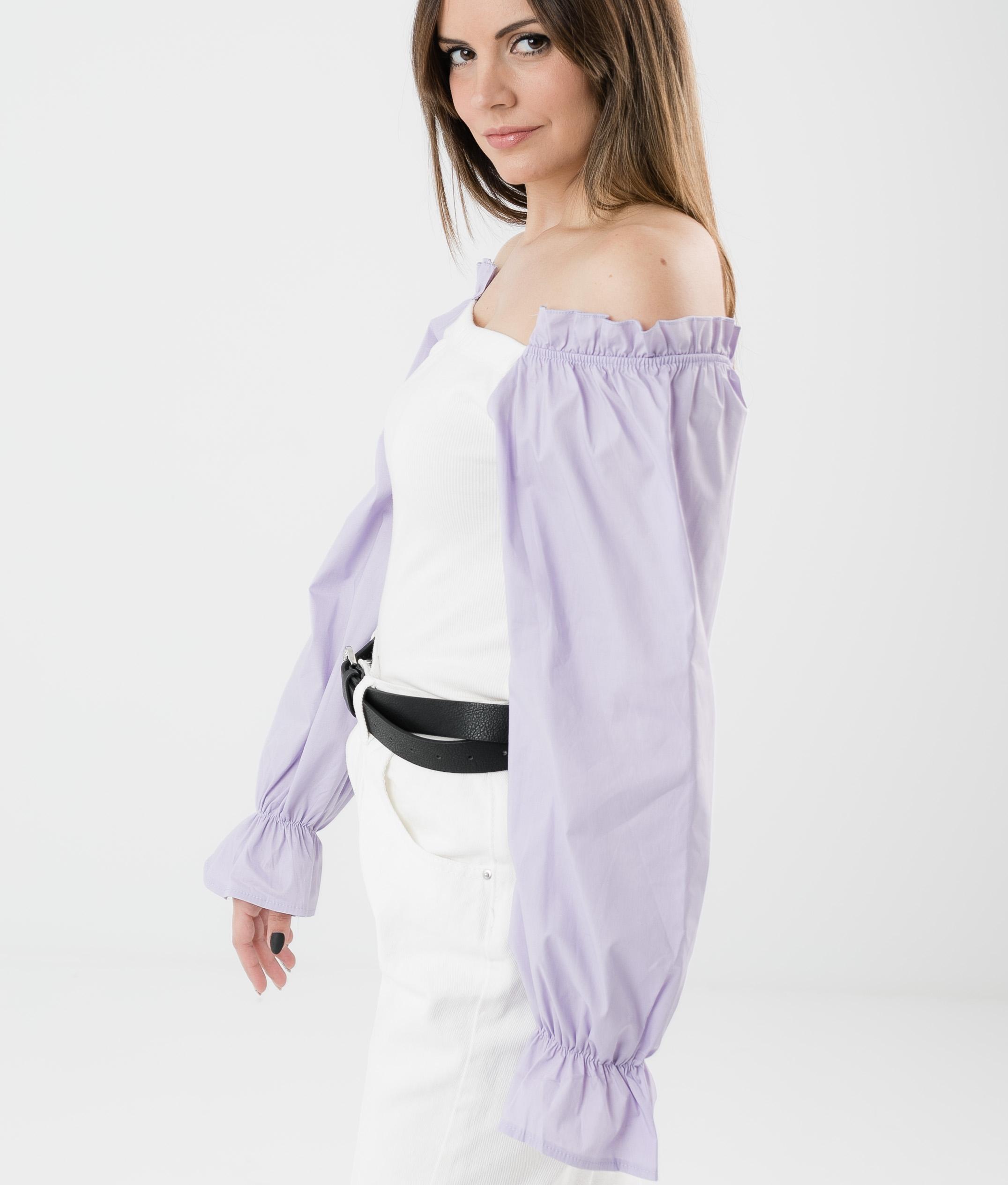 Camiseta Olena - Lilás