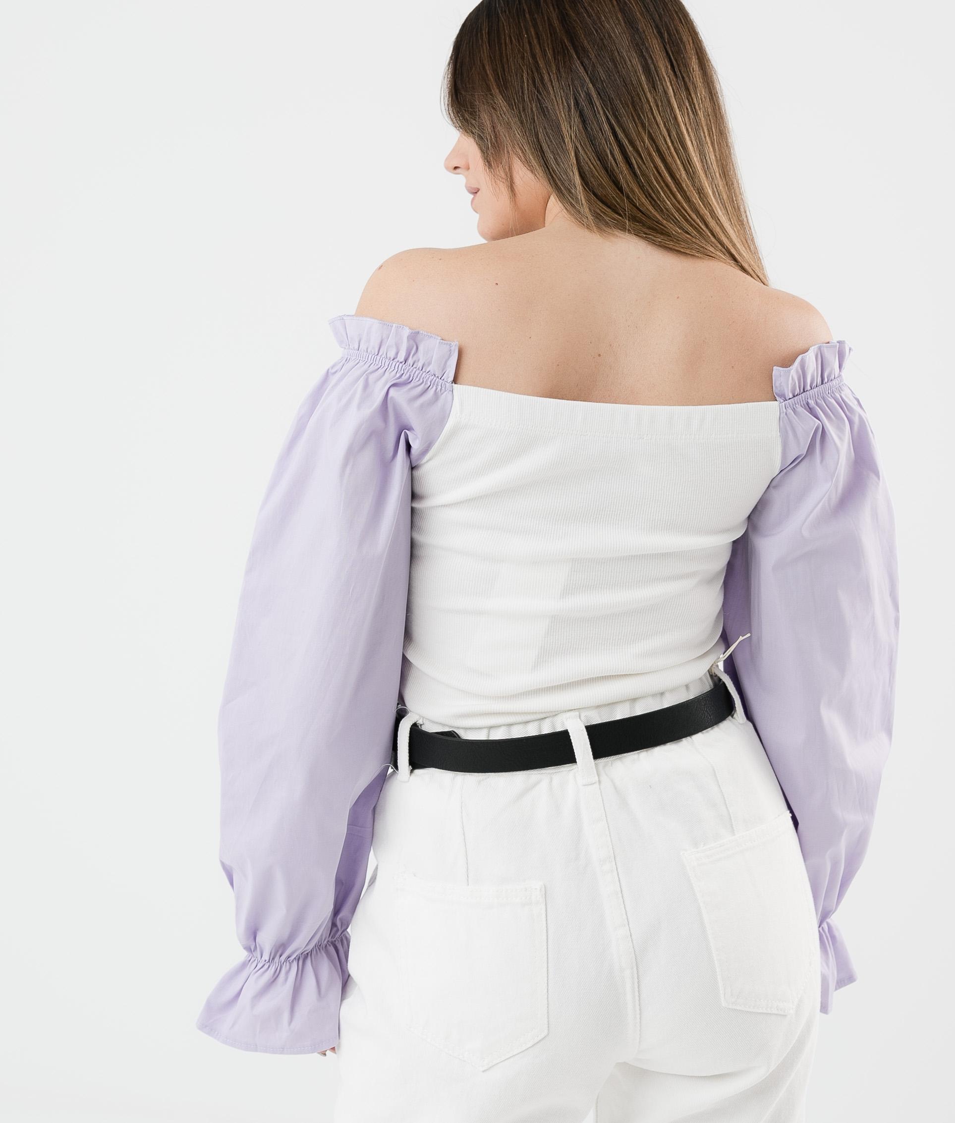 Camicia Olena - Lilla