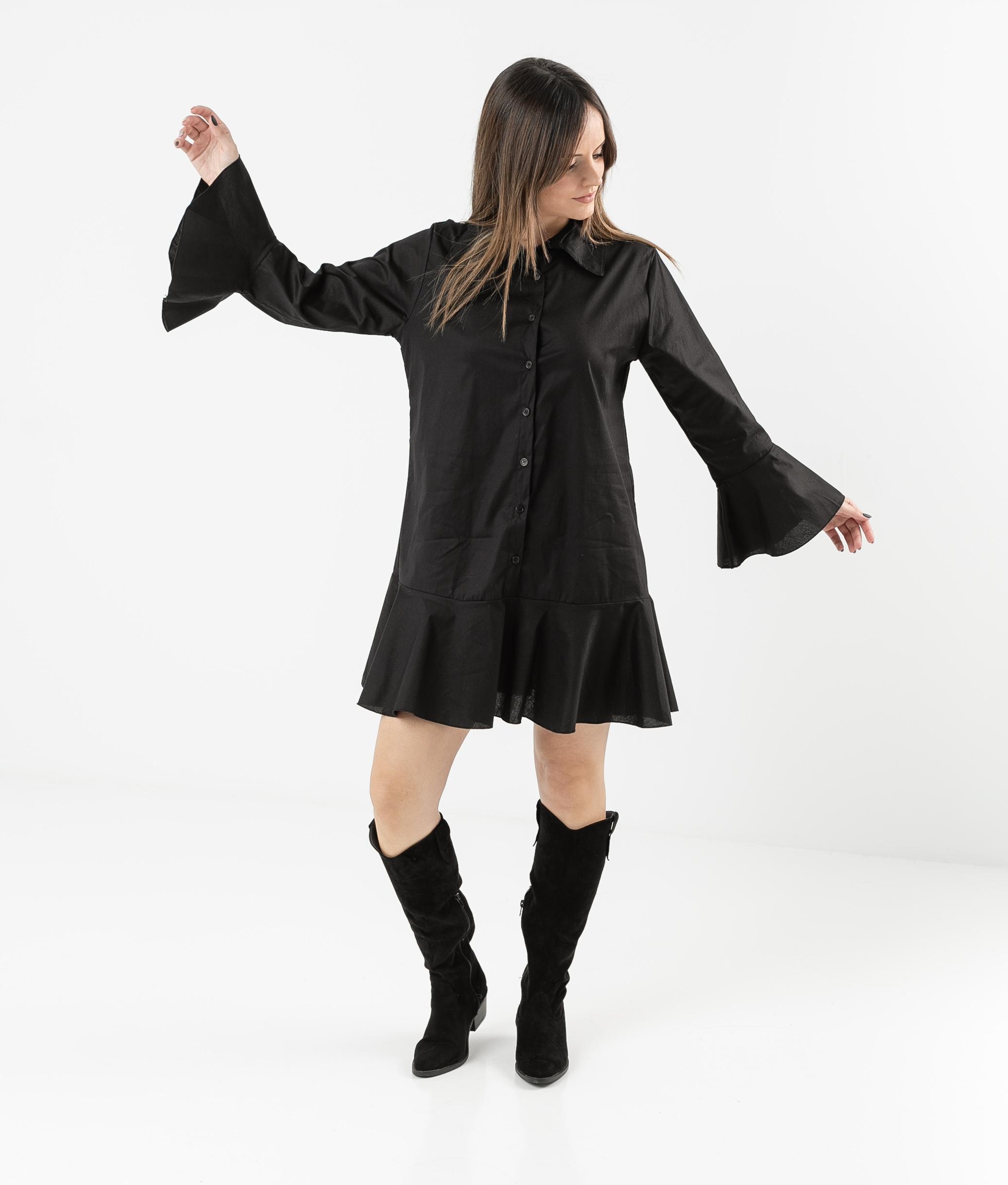 Vestido Cimes - Noir