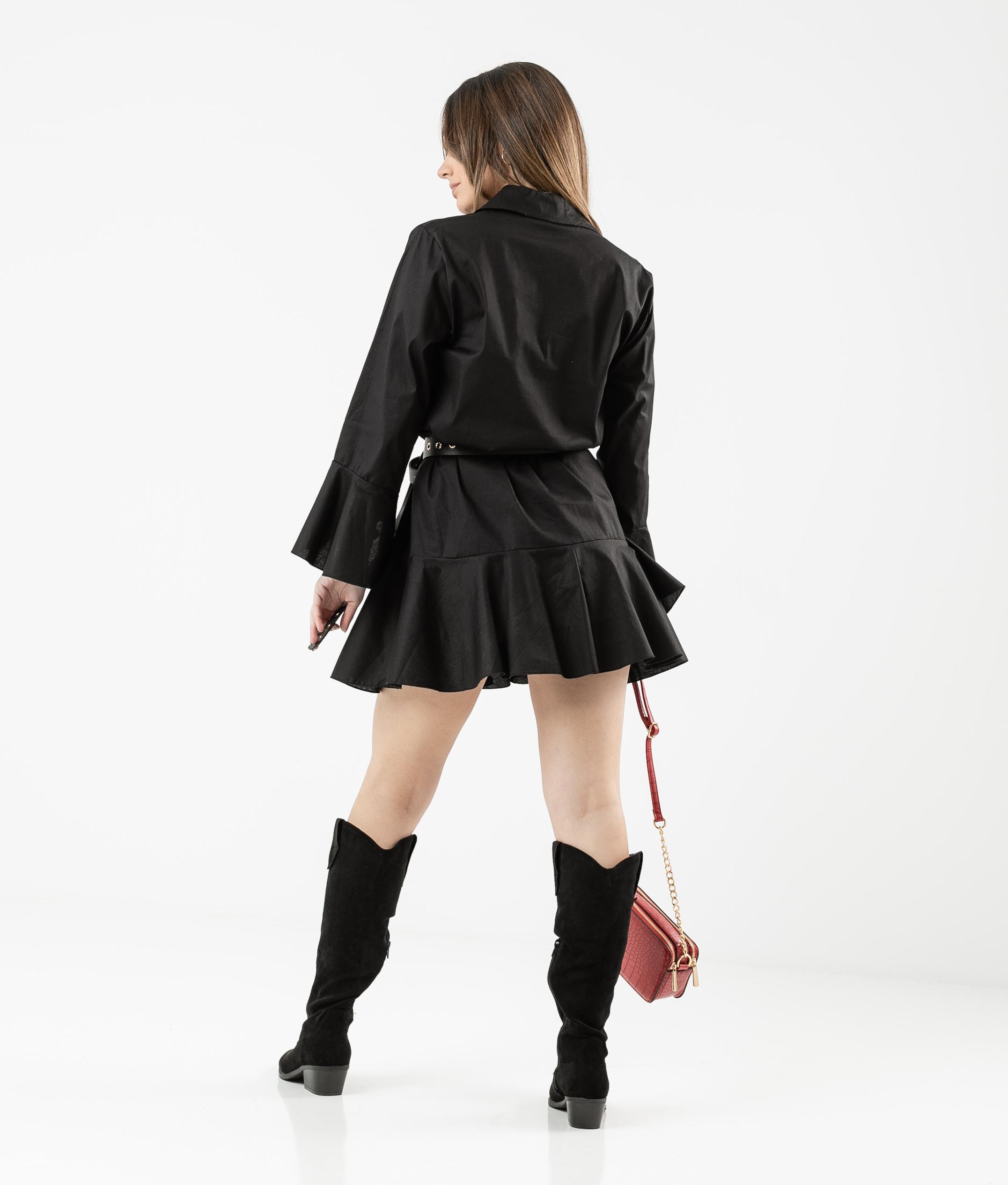 Vestido Cimes - Preto