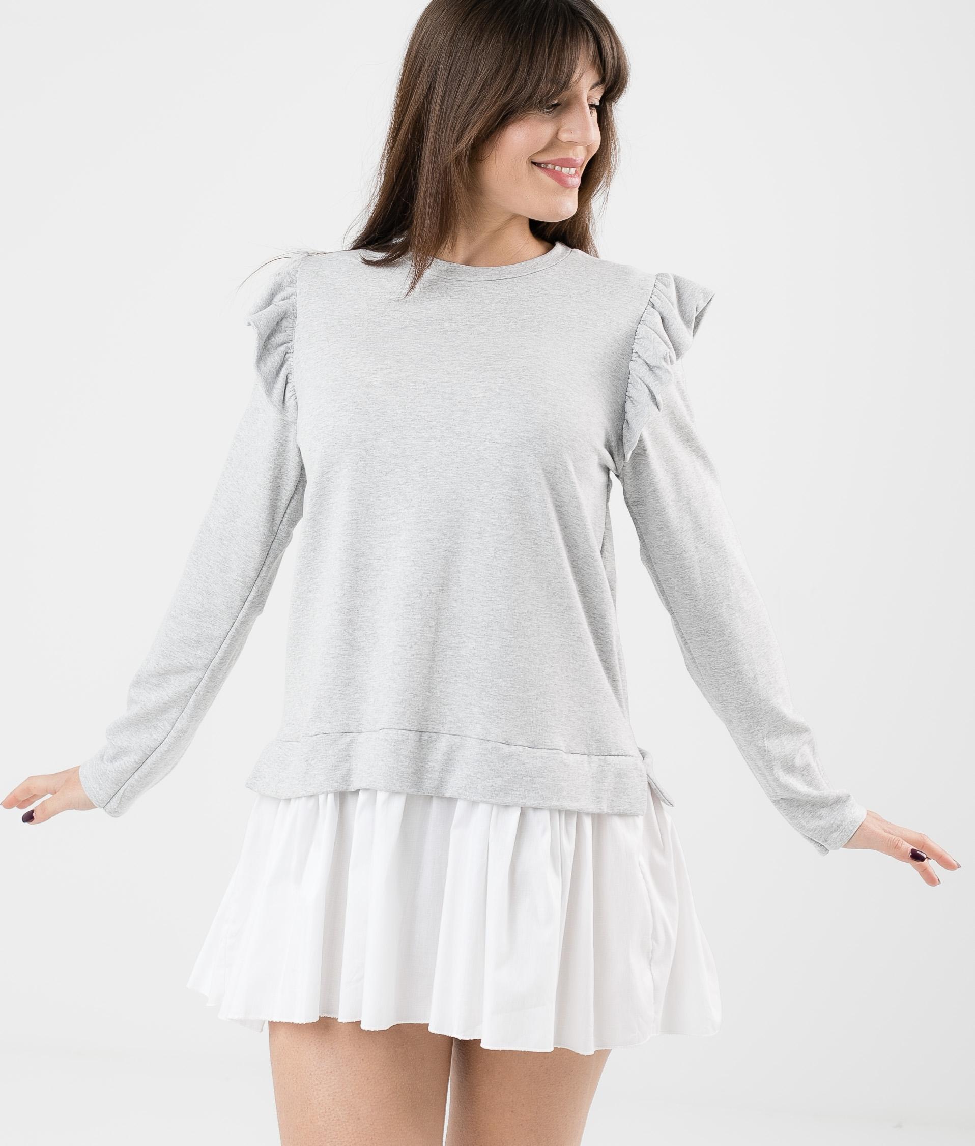 KATPUM DRESS - GREY
