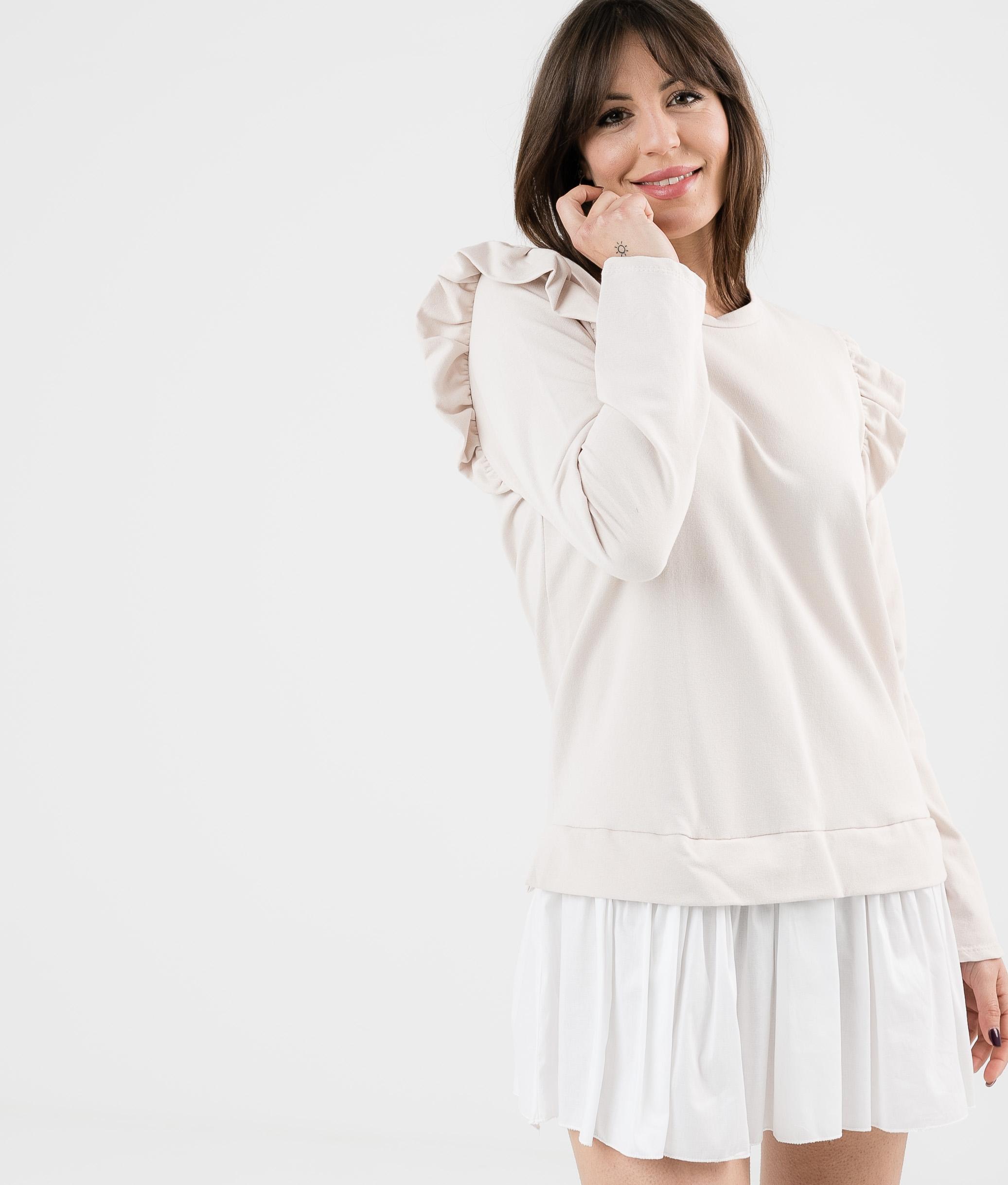 KATPUM DRESS - BEIGE