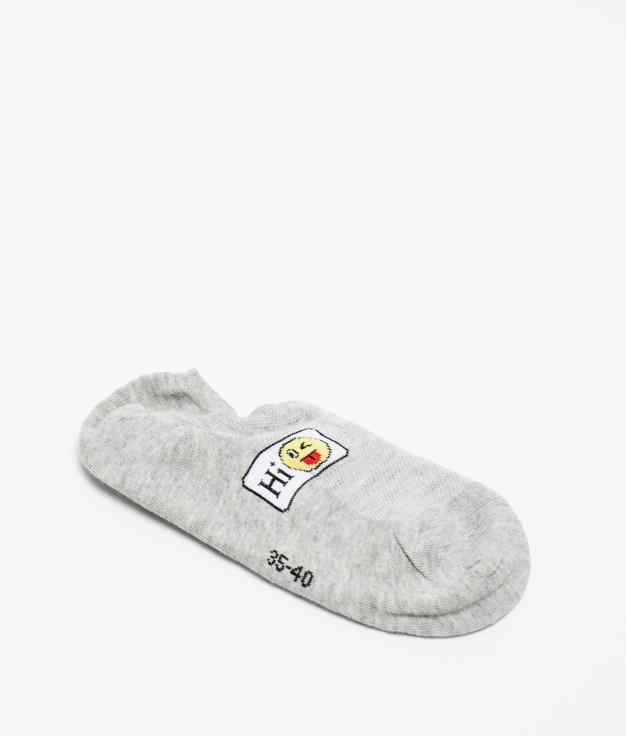 Sock Smile - Grey