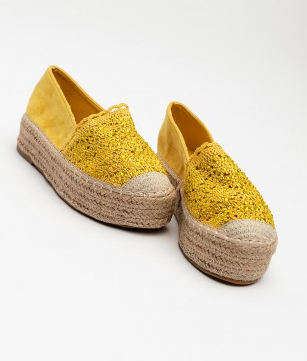 Espadrile Petri - Yellow