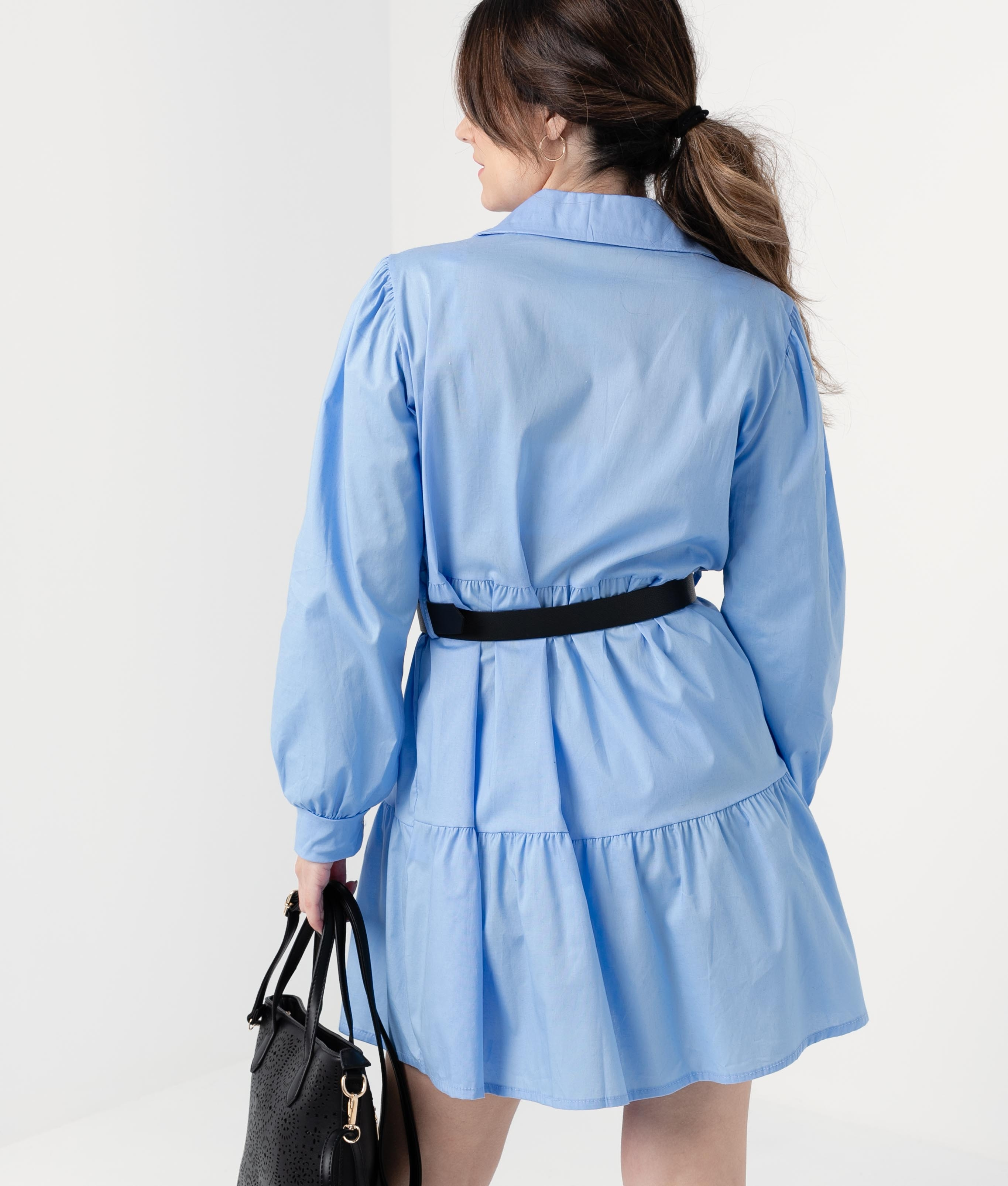 DRESS FORBLE - BLUE