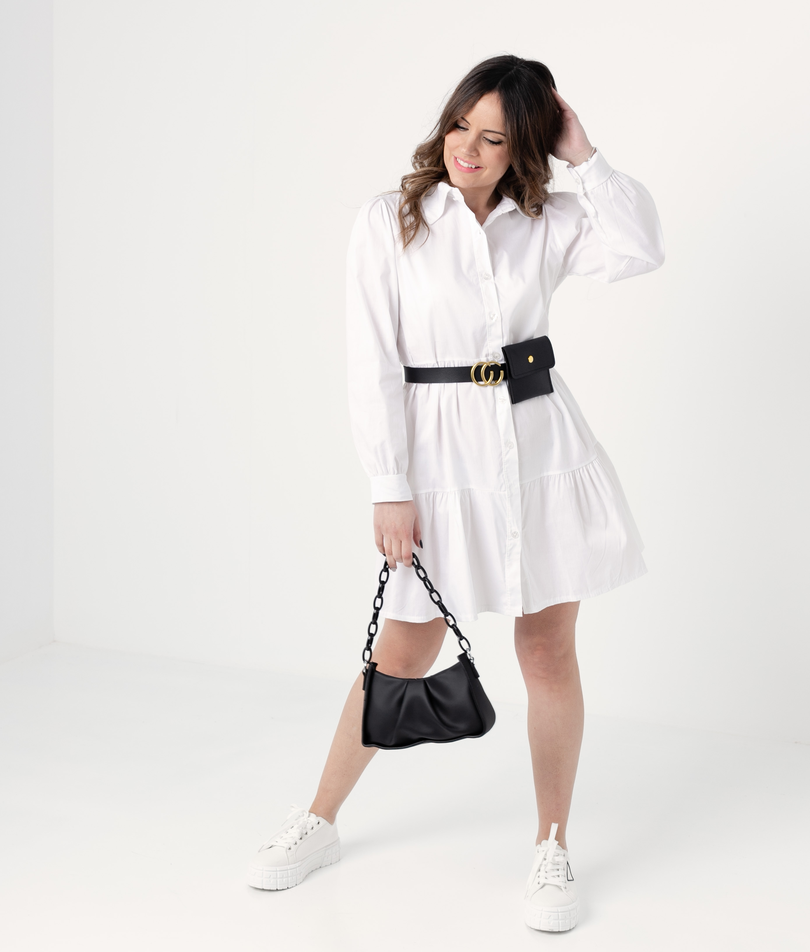 ROBE FORBLE - BLANC