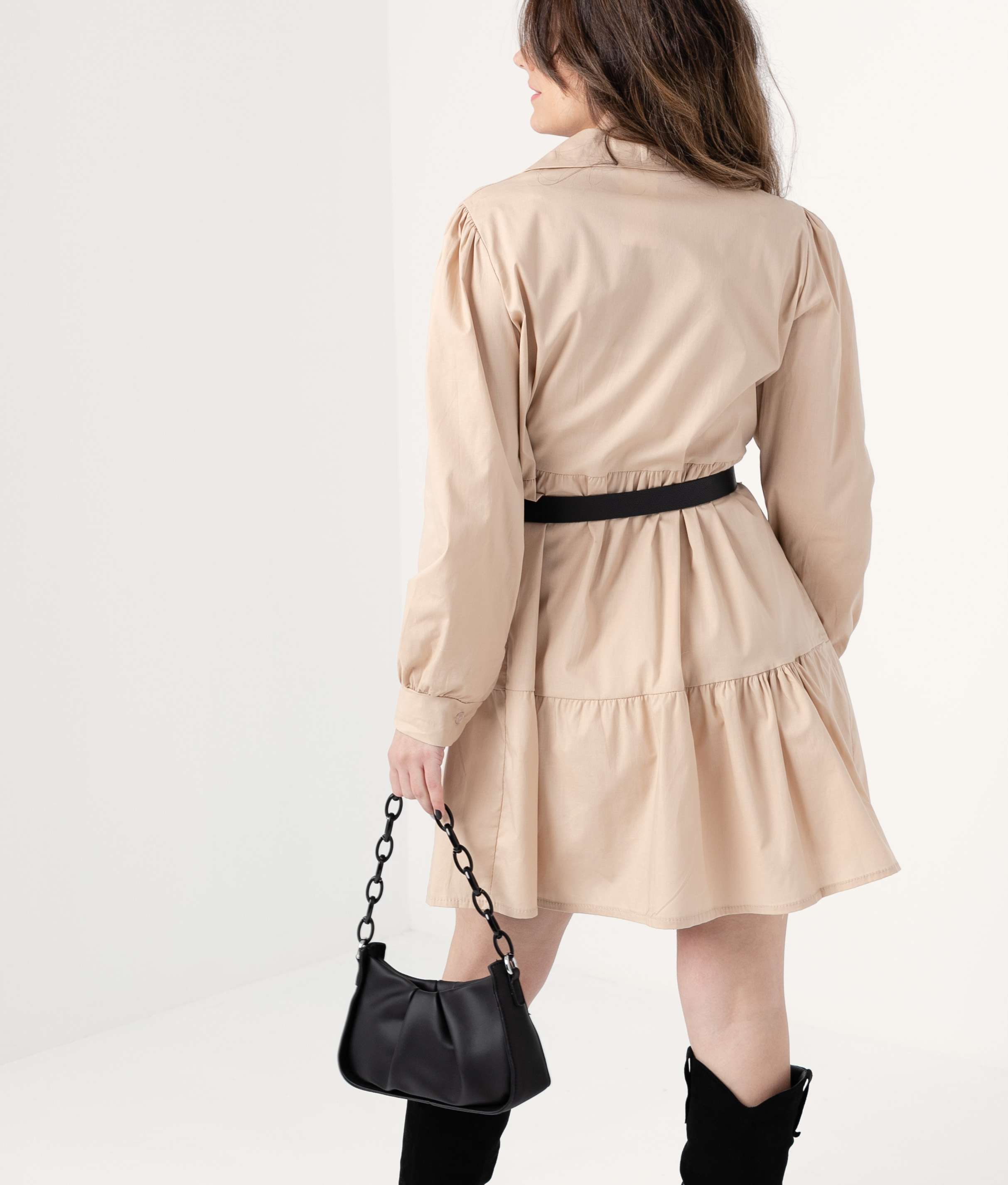 ROBE FORBLE - BEIGE