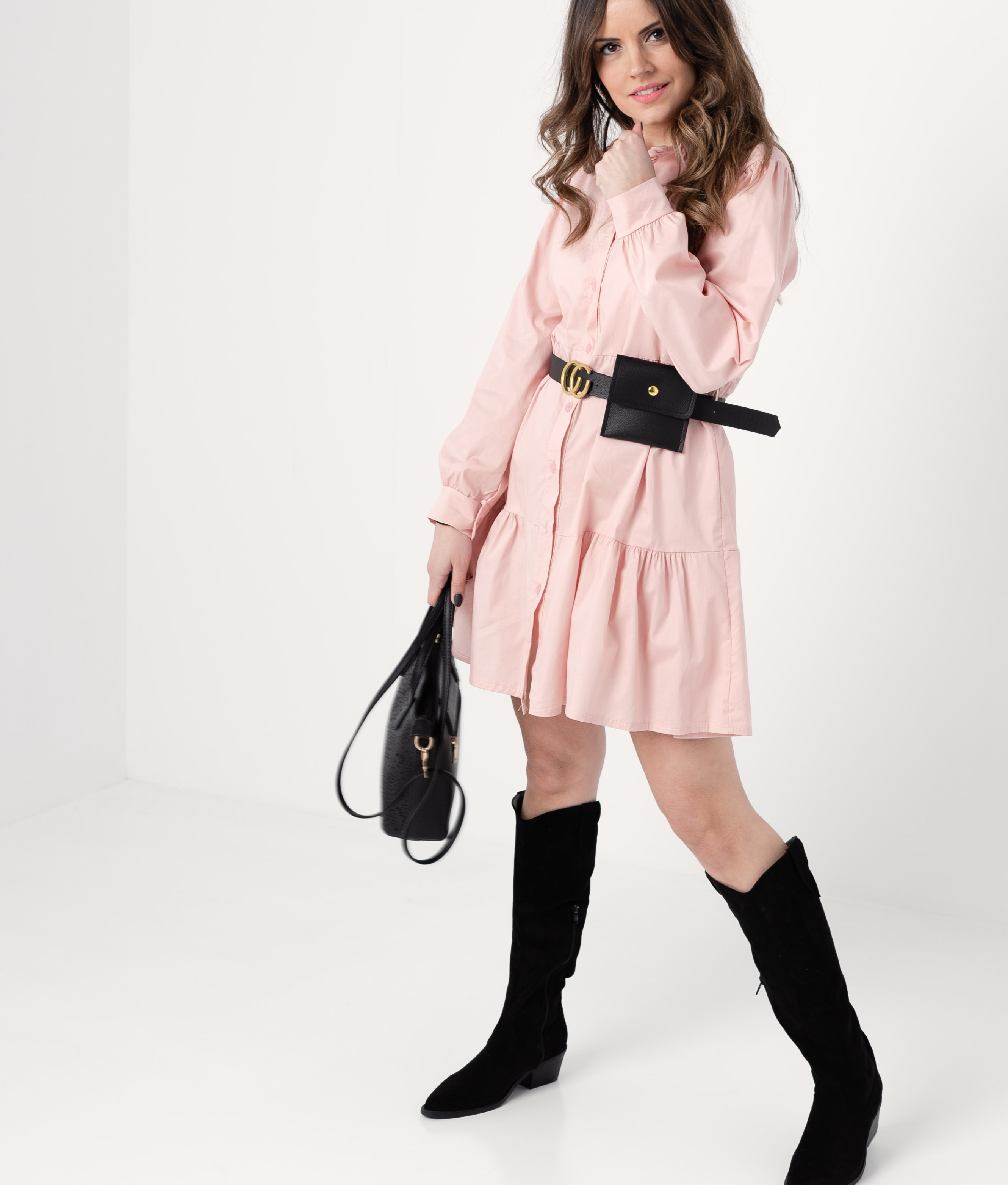 DRESS FORBLE - PINK