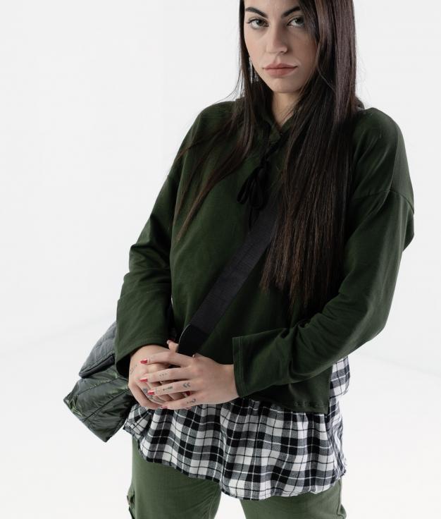 SUDADERA RINUR - GREEN