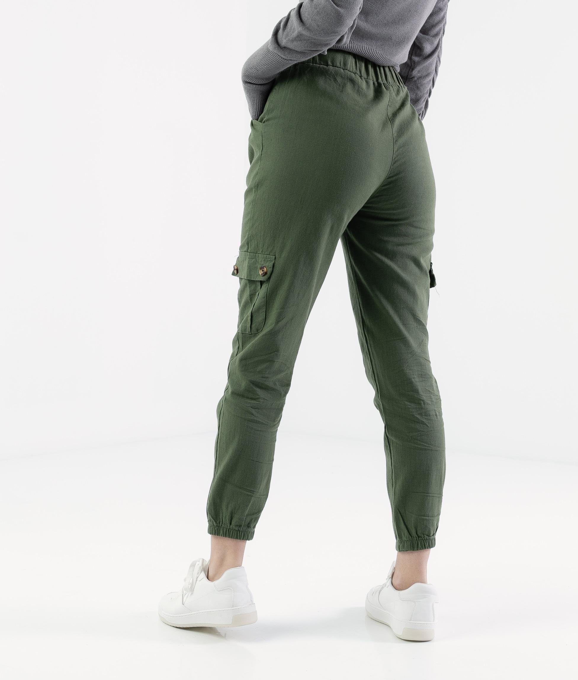 Pantalón Polne - Kaki