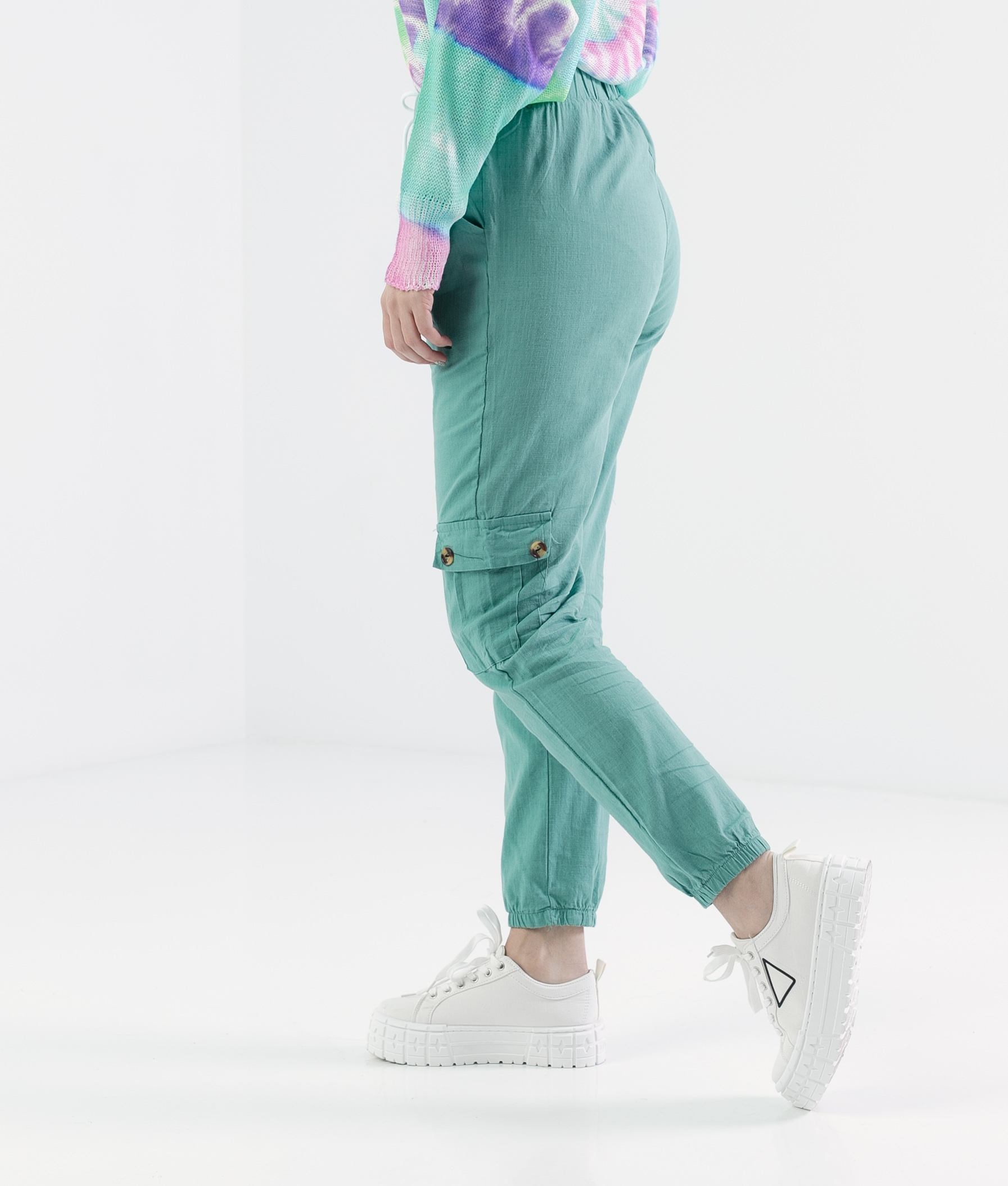 Pantalón Polne - Turquesa