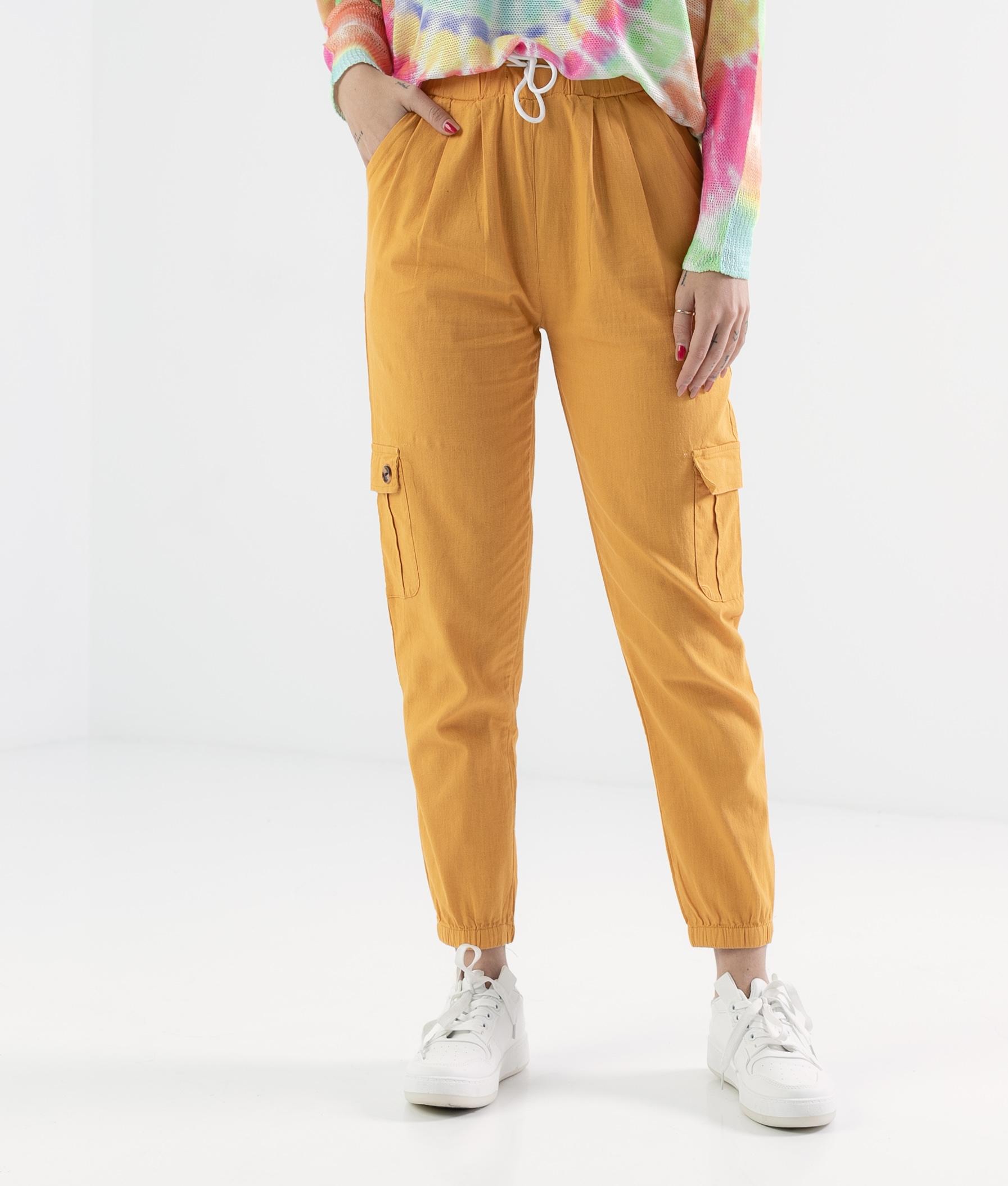 Pantalón Polne - Mustard