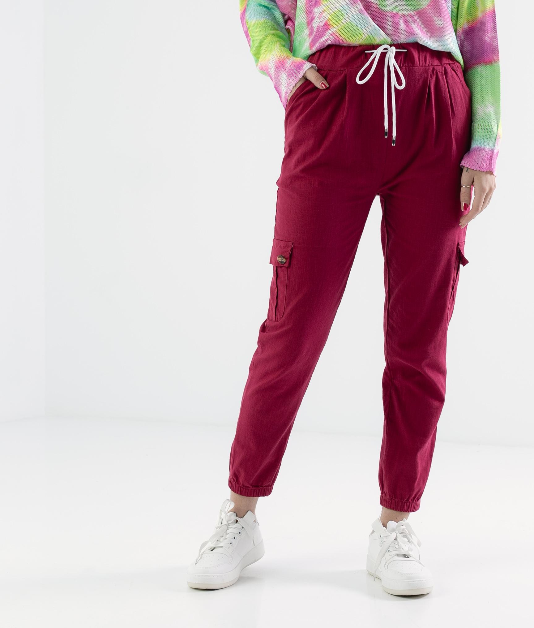 Pantalón Polne - Maroon