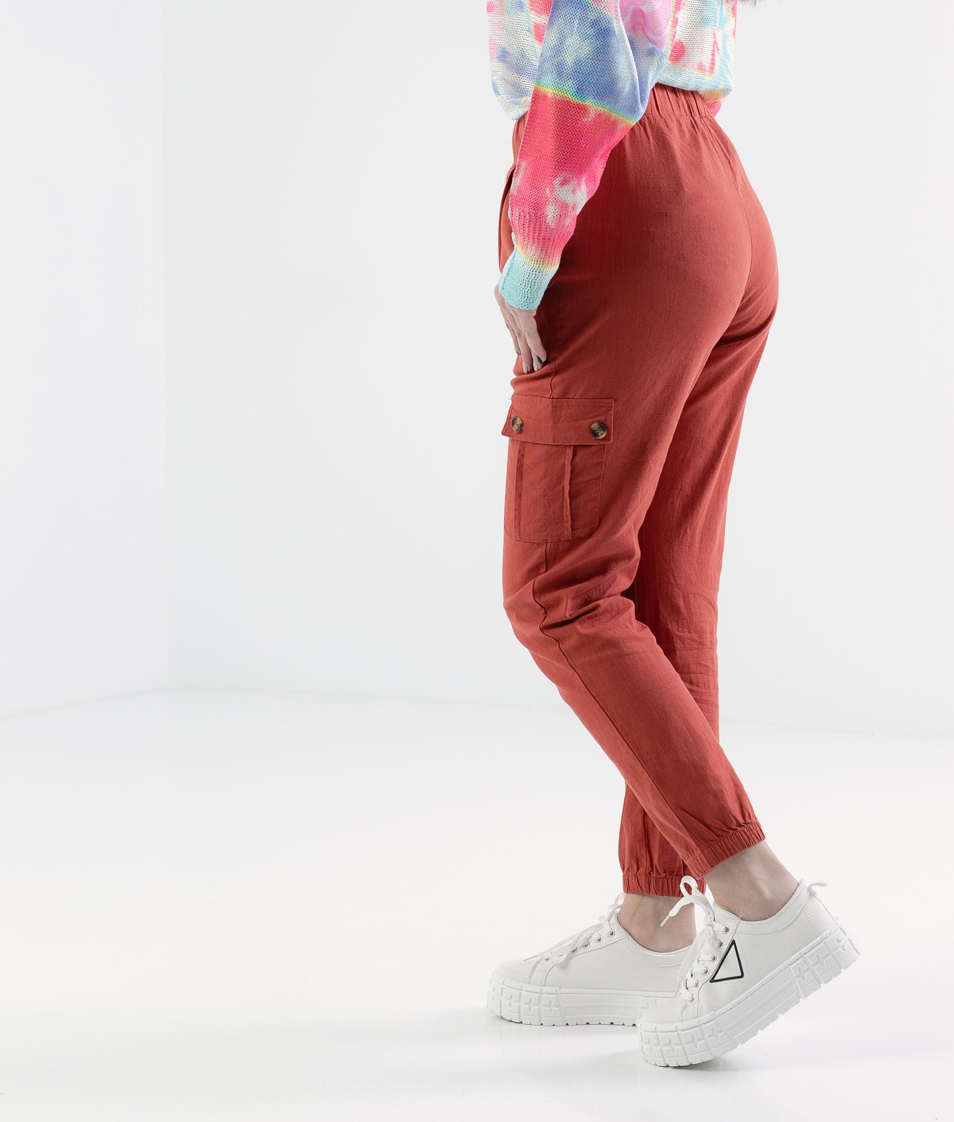 Pantalón Polne - Telha