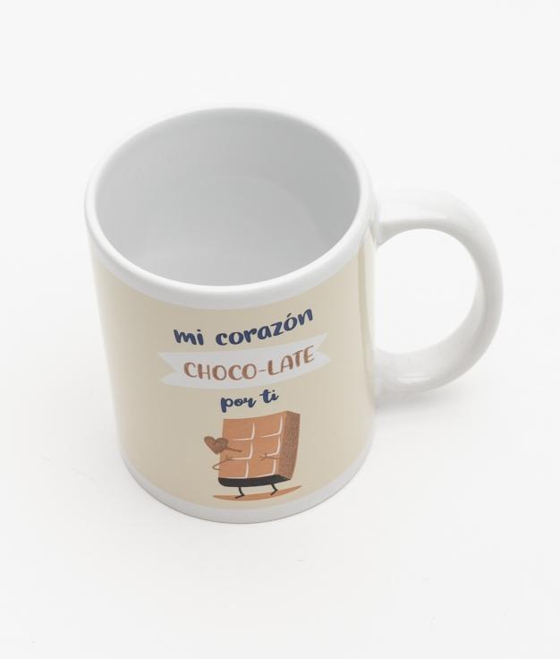 TAZA ZINKER - CHOCOLATE