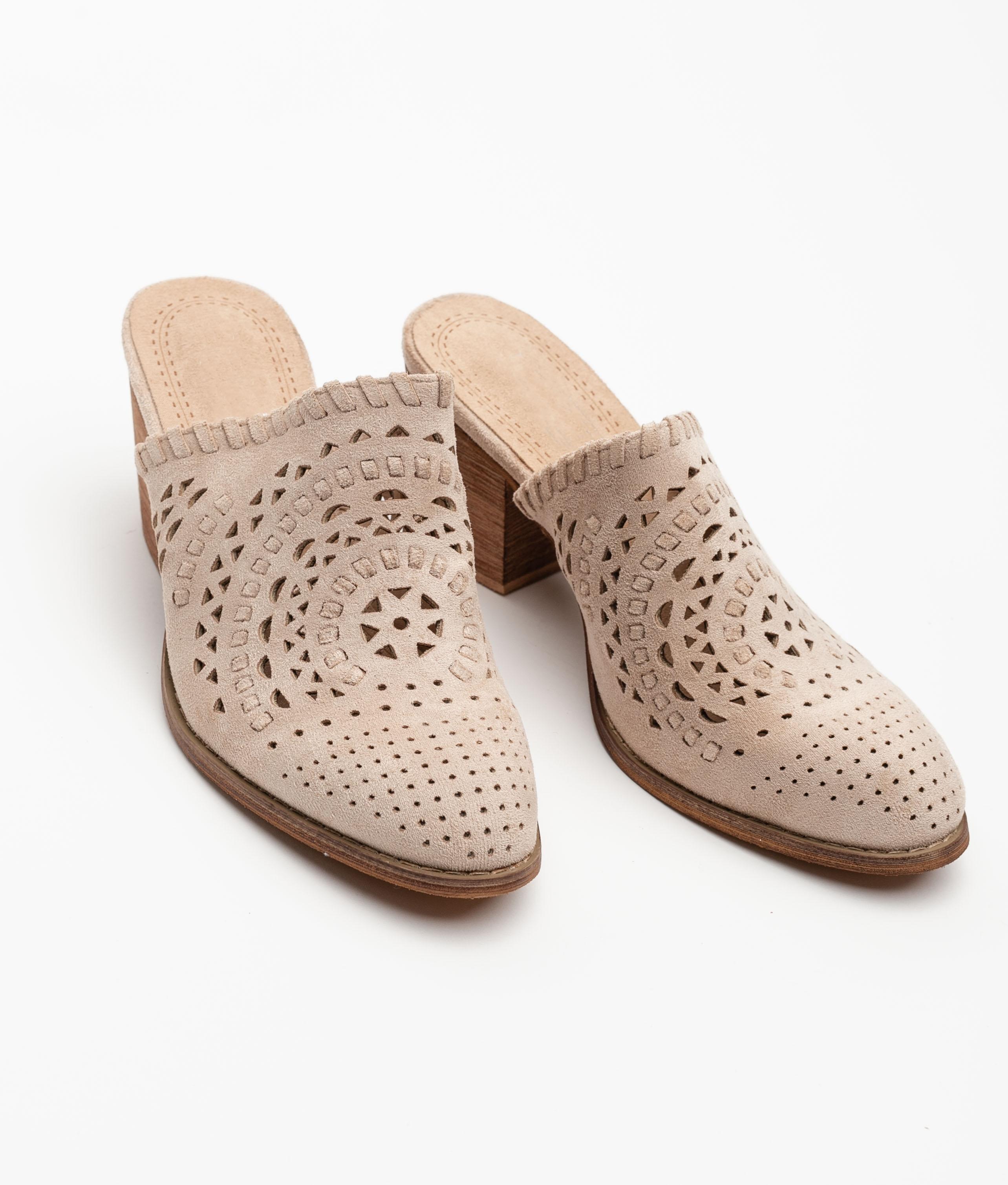 Sandalia de tacón Arcila - Beige
