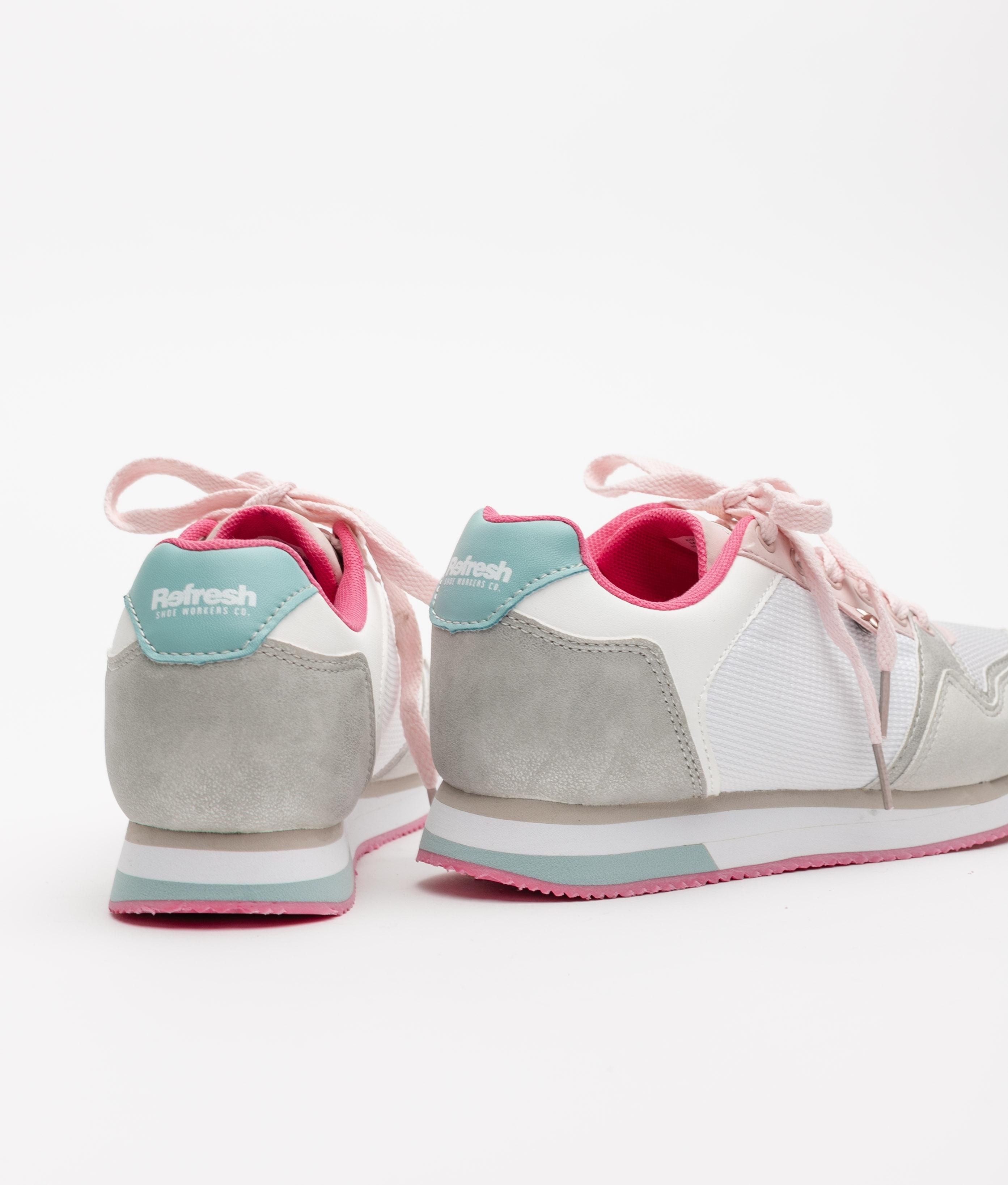 SNEAKERS COMBIN REFRESH - WHITE