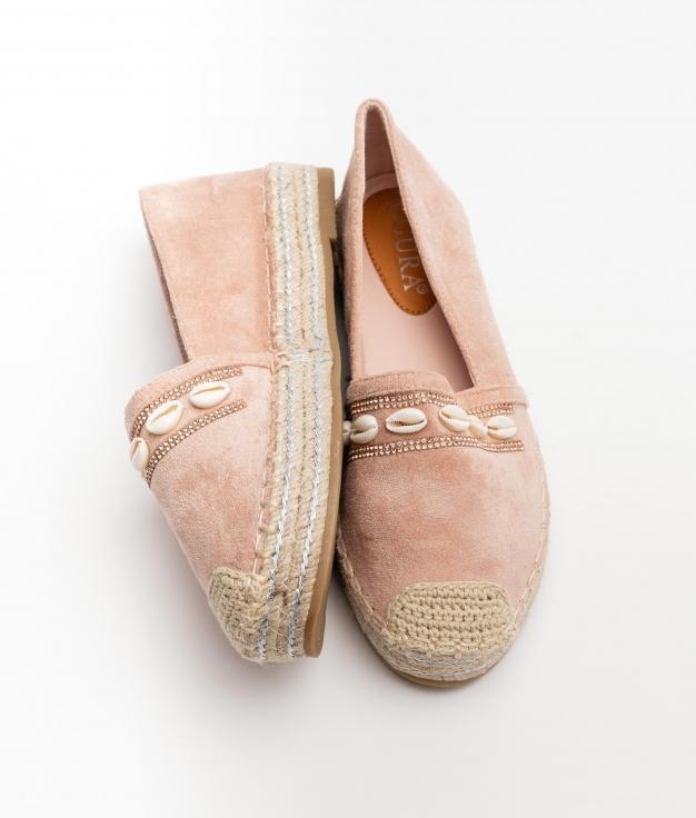 Espadrile Maret - Pink