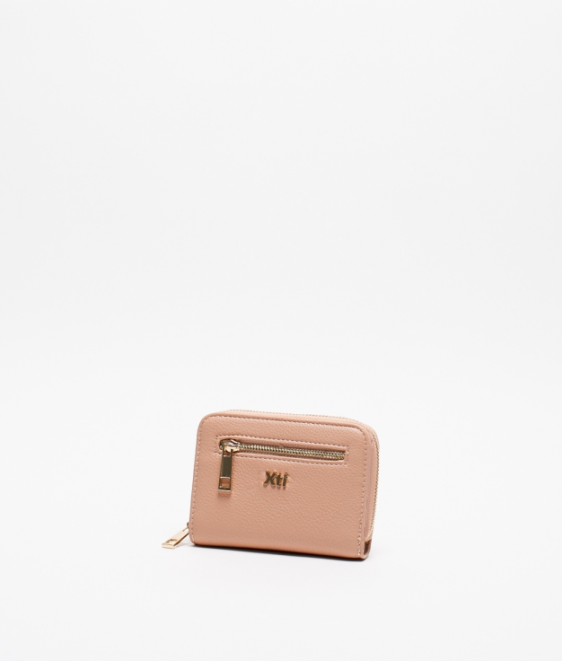 TIGANI XTI COIN PURSE - NUDE