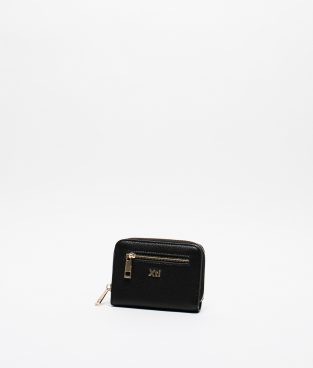 TIGANI XTI COIN PURSE - BLACK