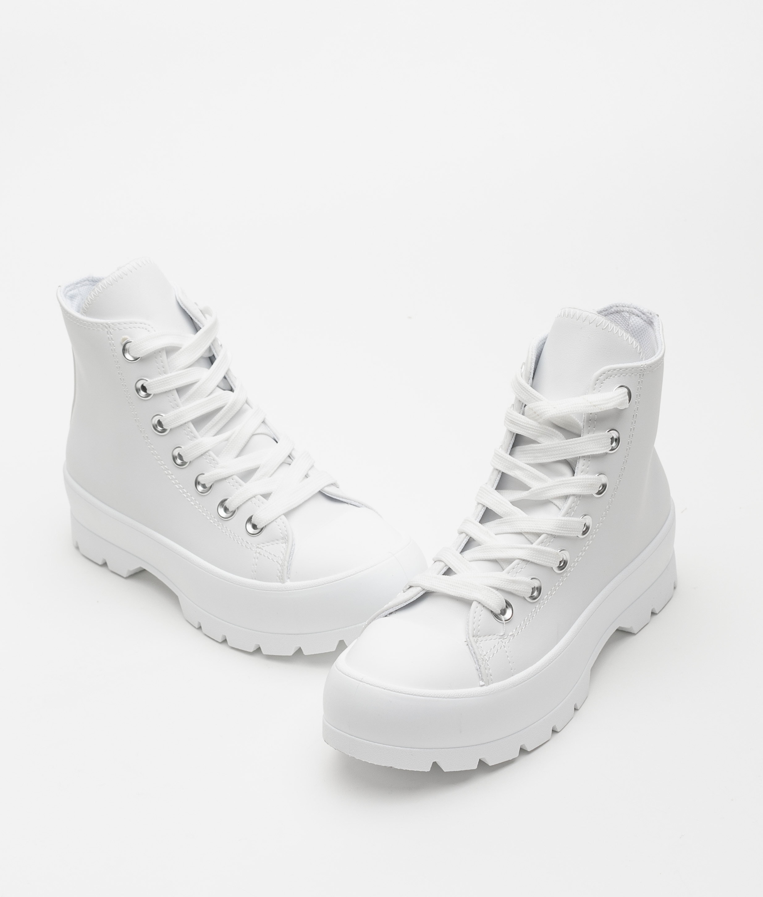 Sneakers Ludi - White Polipiel