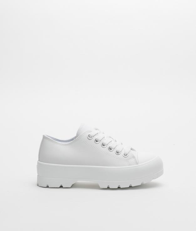 Sneakers CARET - BRANCO POLIPIEL