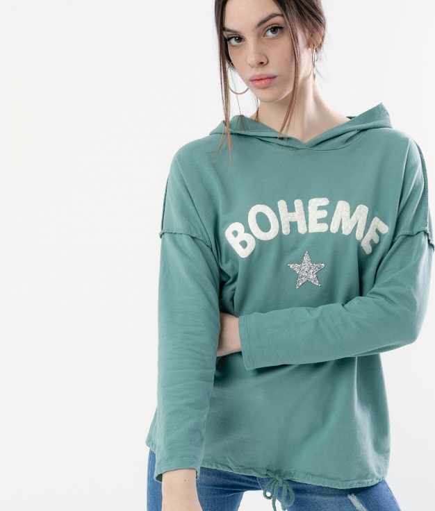 SWEATSHIRT XOCER - GREEN