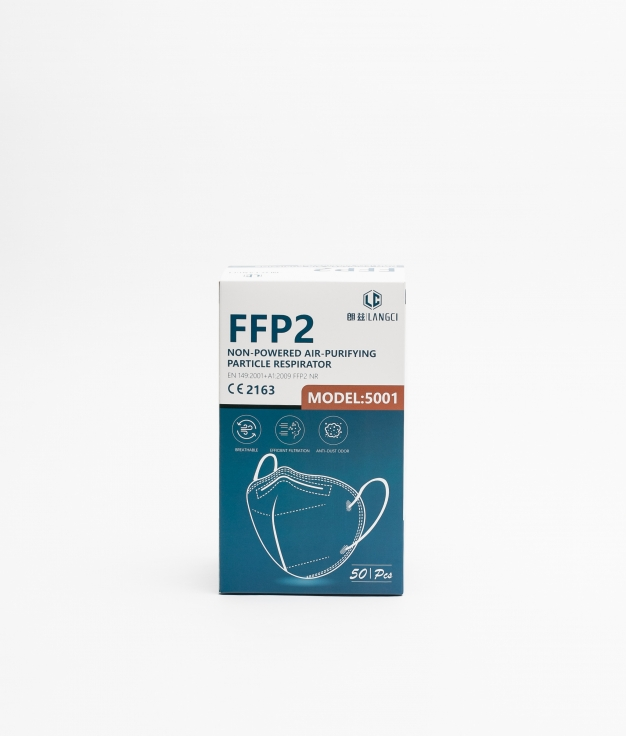 PACK 50 MASCARILLAS FFP2 - BLANCO