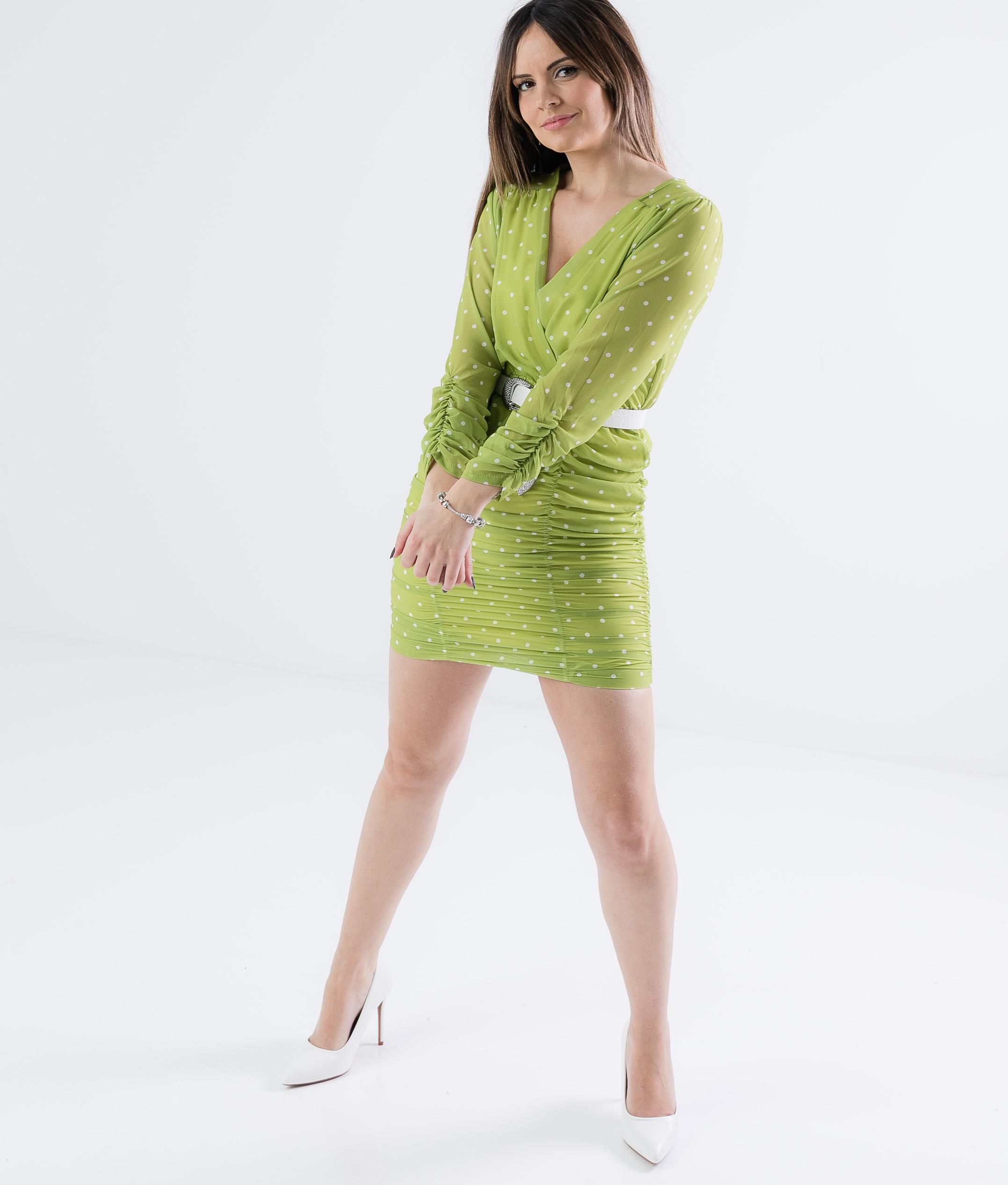 Dress Triju- Green
