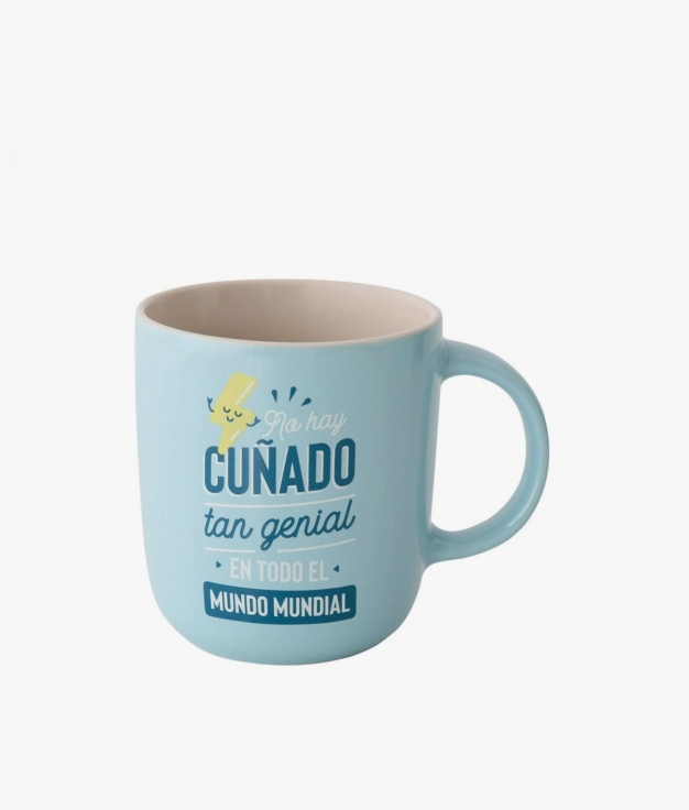 TAZA MR. WONDERFUL - CUÑADO