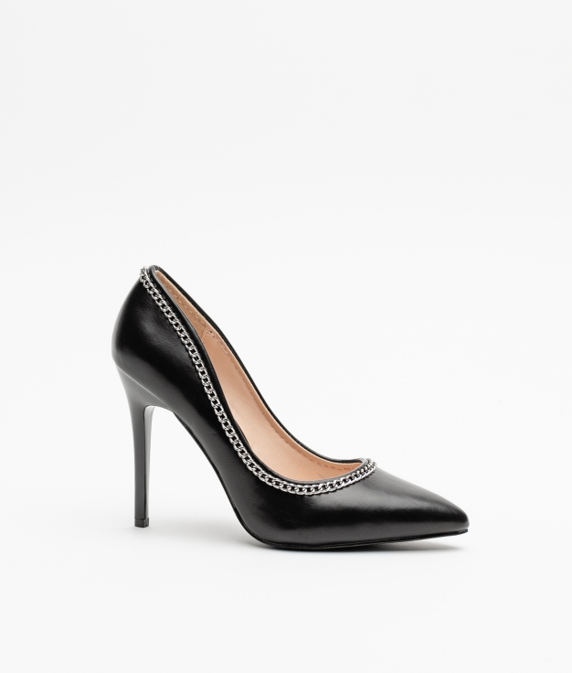 Zapato de Tacón Chanin - Negro