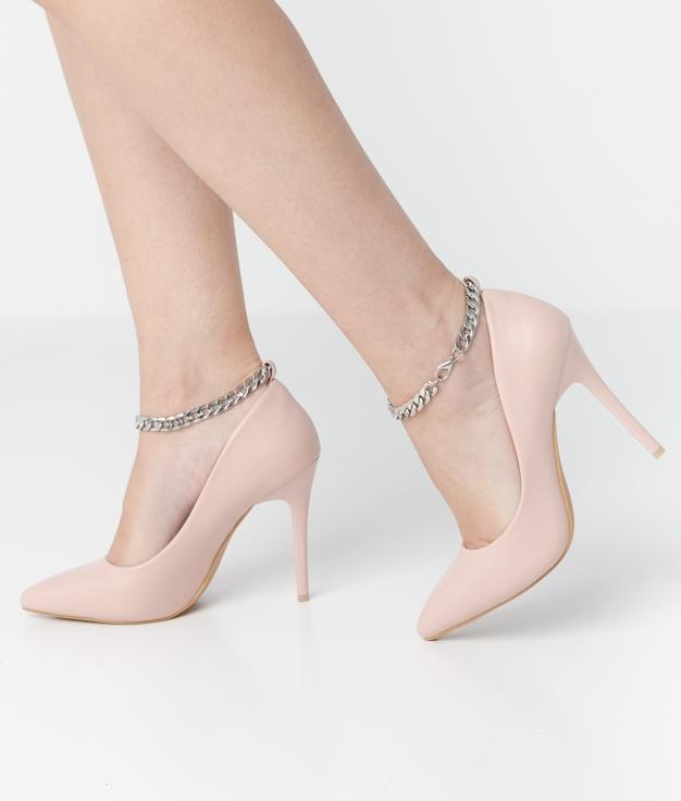 Zapato de Tacón Denas - BEIGE