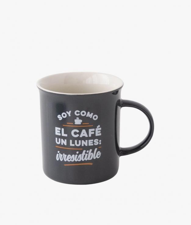 TAZA MR. WONDERFUL - SOY COMO EL CAFÉ