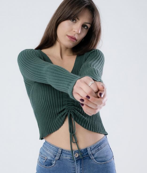 MAGLIA CHERKY - VERDE