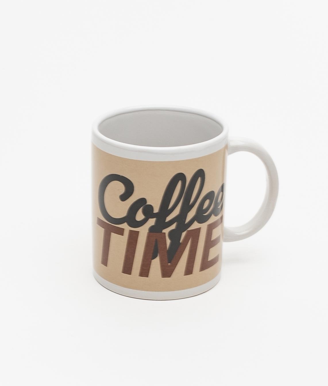 TAZA FEME COFFEE TIME - BEIGE