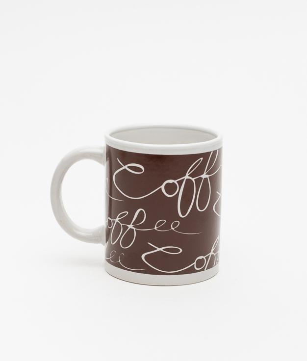 TAZA FEME COFFEE - MARRÓN