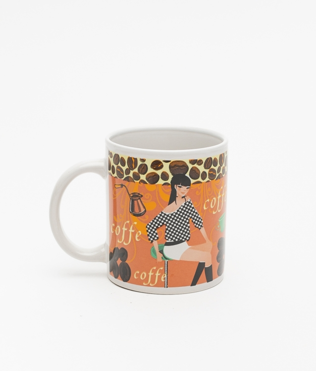TAZA COFFEE - LARANJA