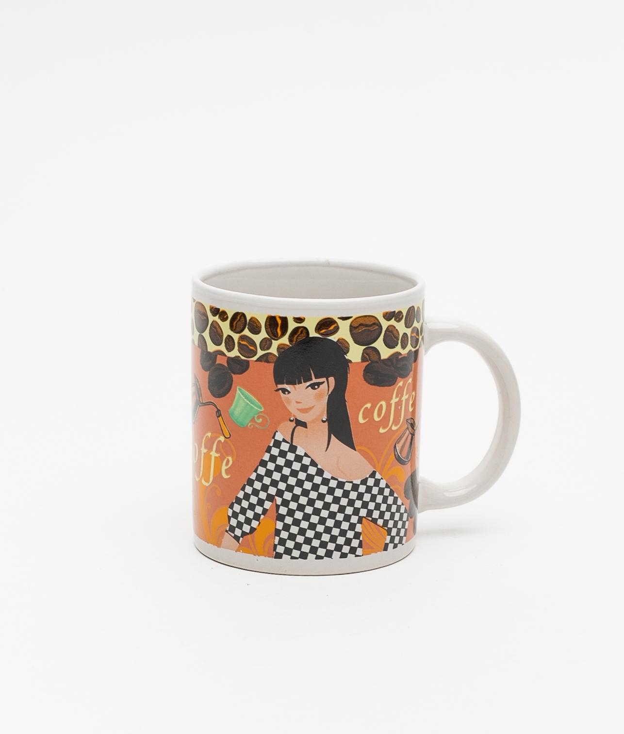 TAZA COFFEE - ORANGE