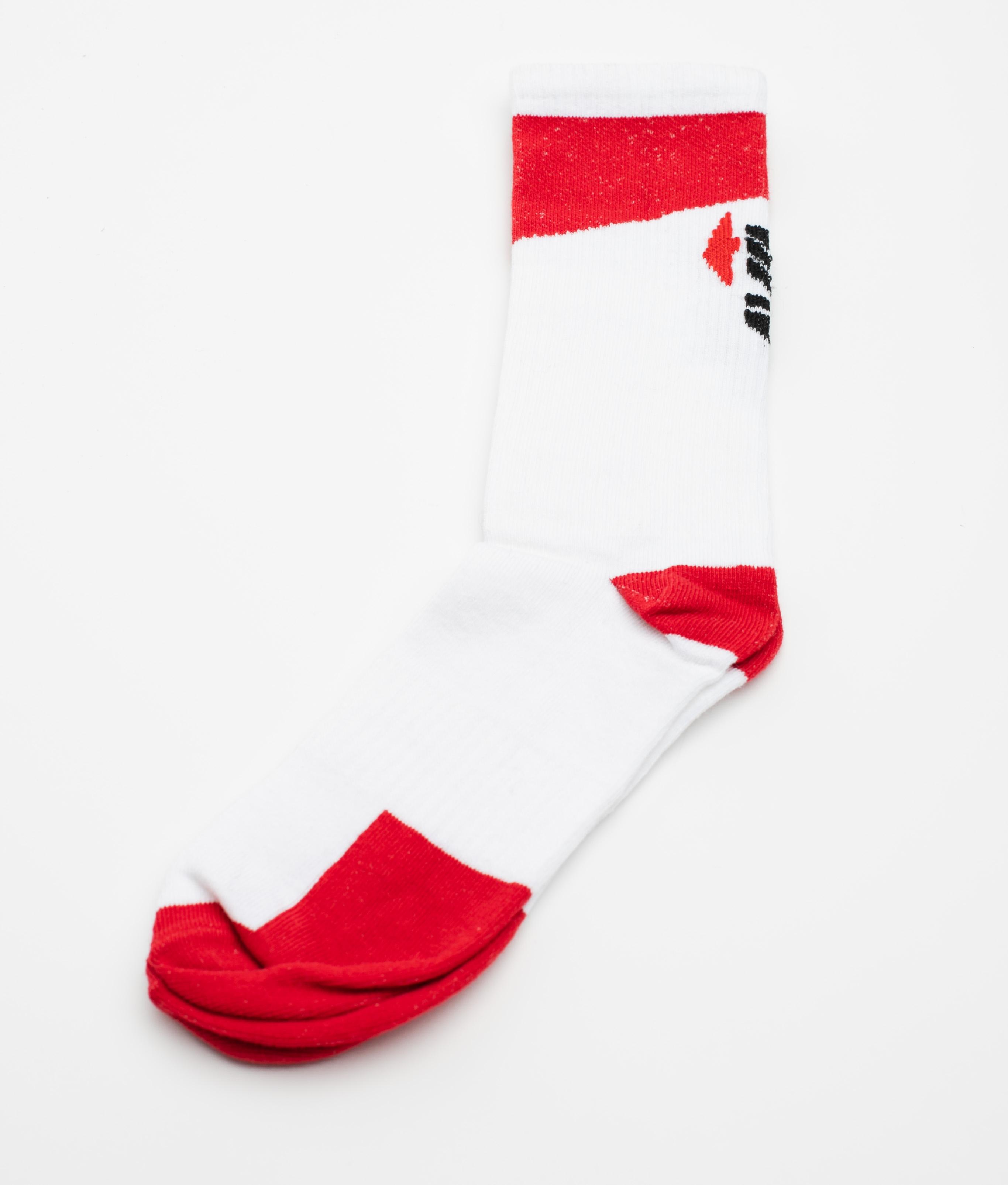 PACK 3 SOCKS PONCES - RED/GREY