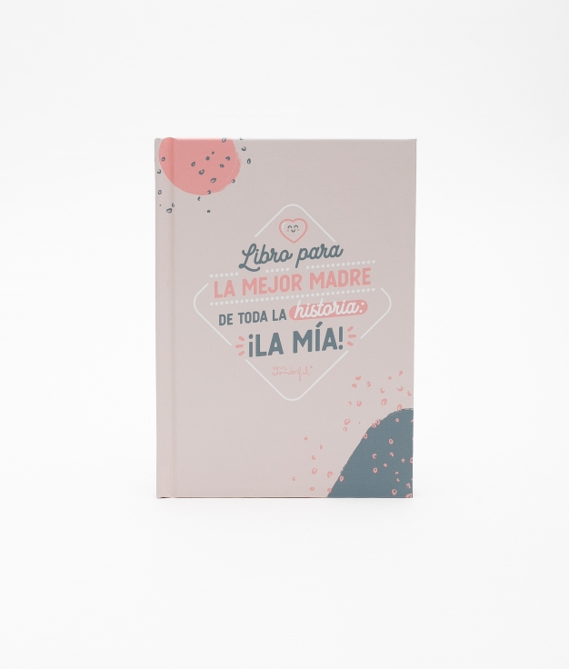 LIBRO RELLENABLE MR. WONDERFUL - MADRE
