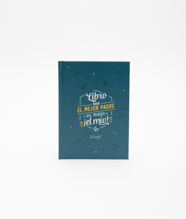 LIBRO RELLENABLE MR. WONDERFUL - PADRE